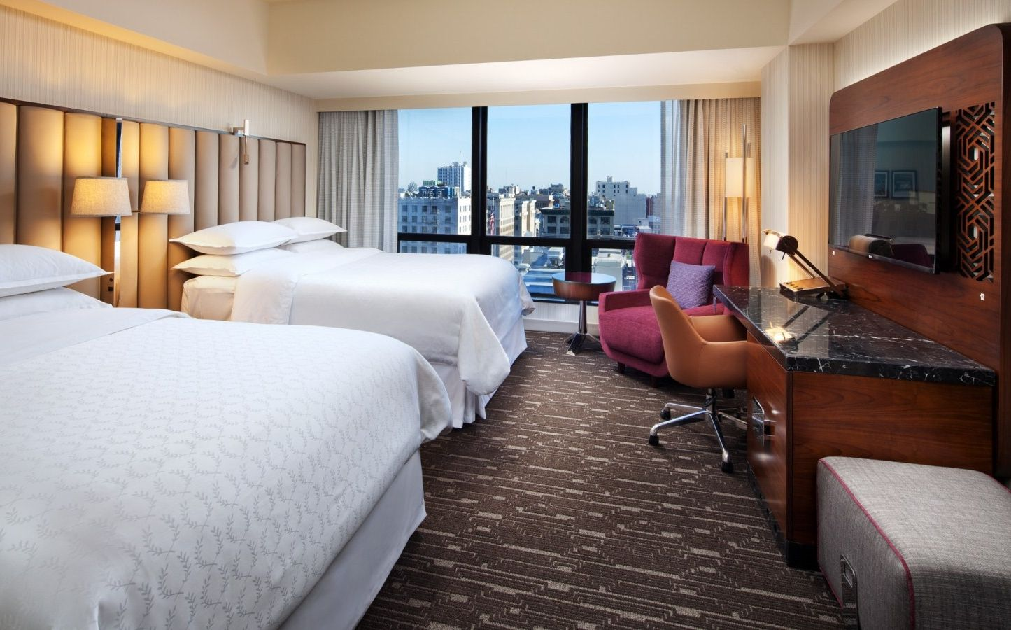 Los Angeles Lodging - Accessible Guestroom | Sheraton Grand Los Angeles
